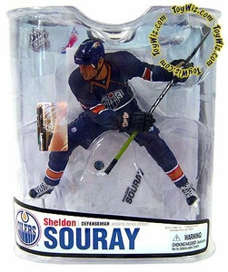 McFarlane Toys NHL Sports Picks Series 18 Action Figure Sheldon Souray (Edmonton Oilers)