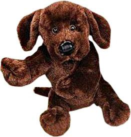 Webkinz Plush Brown Chocolate Lab