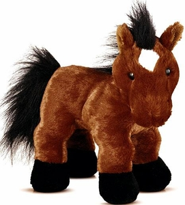 Webkinz Plush Brown Arabian Horse