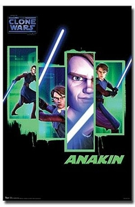Star Wars Clone Wars Wall Poster Anakin Skywalker [RP9616]