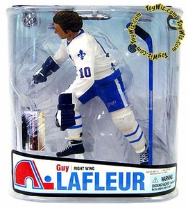 McFarlane Toys NHL Sports Picks Series 18 Action Figure Guy LaFleur (Quebec Nordiques)