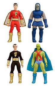DC Universe World's Greatest Super Heroes Series 4 Set of 4 Retro Action Figures [Shazam, Darkseid, Black Adam & Martian Manhunter]
