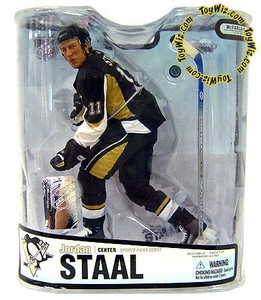 McFarlane Toys NHL Sports Picks Series 18 Action Figure Jordan Staal (Pittsburgh Penguins) Black Jersey