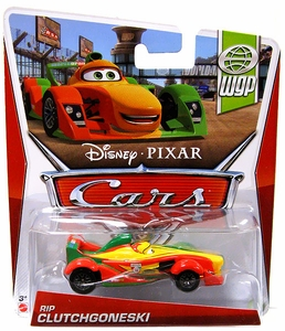 Disney / Pixar CARS Movie 1:55 Die Cast Car Rip Clutchgoneski [WGP 8/17]