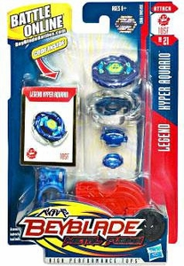 Beyblades Metal Fusion Attack Battle Top #BB21 Hyper Aquario [Legend]
