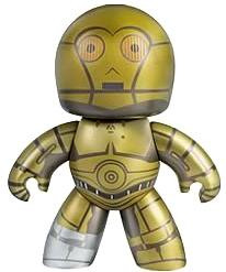 Star Wars Mighty Muggs Wave 2 Figure C-3PO
