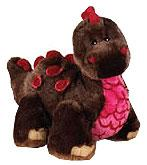 Webkinz Cocoa Dinosaur Plush Stuffed Animal