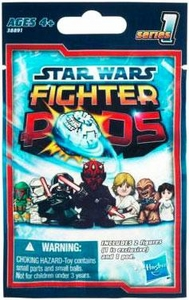 Star Wars Fighter Pods Series 1 Mini Figure Mystery Bag [2 Figures & 1 Pod]