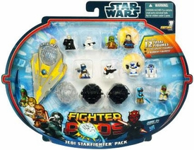 Star Wars Fighter Pods Series 1 Mini Figure 12-Pack Jedi Starfighter Pack [Class III]