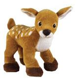 Webkinz Deer Plush Stuffed Animal