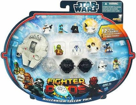 Star Wars Fighter Pods Series 1 Mini Figure 12-Pack Millennium Falcon Pack [Class III]