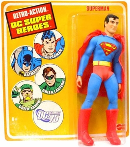 DC Universe World's Greatest Super Heroes Retro Series 1 Action Figure Superman