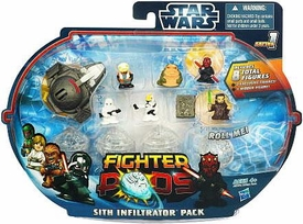 Star Wars Fighter Pods Series 1 Mini Figure 8-Pack Sith Infilitrator Pack