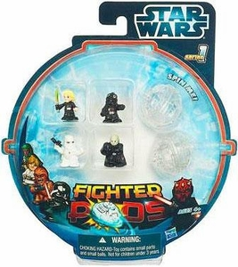 Star Wars Fighter Pods Series 1 Mini Figure 4-Pack [Random Figures]