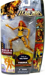 Marvel Legends Exclusive Nemesis Build-A-Figure Wave Action Figure Tigra