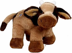 Webkinz Plush Brown Cow