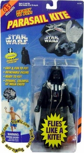 Star Wars Spectra Star Darth Vader Parasail Kite Damaged Package, Mint Contents!