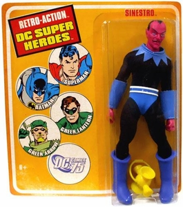 DC Universe World's Greatest Super Heroes Retro Series 1 Action Figure Sinestro [Original Blue Outfit]
