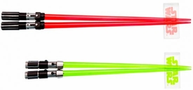 Star Wars Lightsaber Chopsticks Set Darth Vader & Yoda