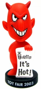 Funko Toy Fair 2003 Exclusive Wacky Wobbler Bobble Head Mini Devil