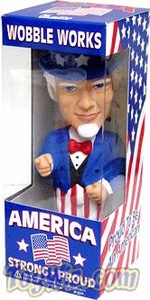 Funko Limited Edition Wacky Wobbler Bobble Head Uncle Sam