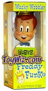 Funko Exclusive Wacky Wobbler Bobble Head Freddy Funko