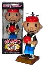 Funko Exclusive Wacky Wobbler Bobble Head Sparky Bowler