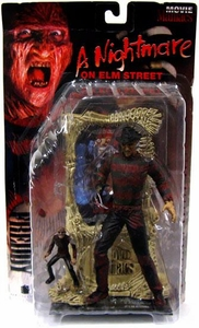 McFarlane Toys Movie Maniacs Series 1 Action Figure Freddy Krueger [Bloody Variant]