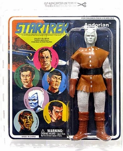 Diamond Select Star Trek Original Series 2 Cloth Retro Action Figure Andorian