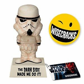 Star Wars Wacky Wisecrack Figure Storm Trooper [The Dark Side Made Me Do It]