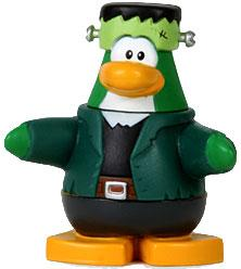 Disney Club Penguin 2 Inch Mini Figure Frankenpenguin