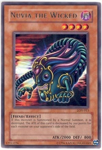 YuGiOh Labyrinth of Nightmare Single Card Rare LON-013 Nuvia the Wicked