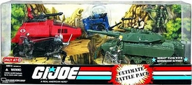 GI Joe Exclusive Ultimate Battle Pack  [Destro, Cobra Commander, Trouble Bubble, H.I.S.S. Tank Driver with H.I.S.S. Tank, Stalker, Cobra Vehicle Gunner, M.O.B.A.T. Tank with Steeler & Short Fuze]
