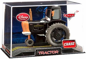 Disney / Pixar CARS Movie Exclusive 1:43 Die Cast Car In Plastic Case Tractor Chase Edition!