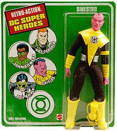 DC Universe World's Greatest Super Heroes Retro Series Exclusive Action Figure Sinestro [Sinestro Corp]