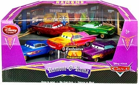 Disney / Pixar CARS Movie Exclusive 1:43 Die Cast Car 5 Piece Set Ramone-O-Rama