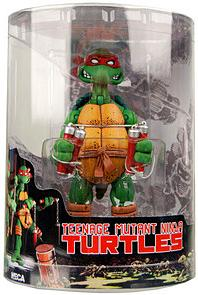 NECA Teenage Mutant Ninja Turtles Comic Style Action Figure Michelangelo [Tube Packaging]