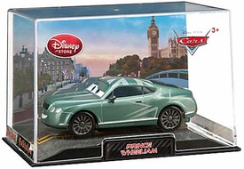 Disney / Pixar CARS 2 Movie Exclusive 1:43 Die Cast Car In Plastic Case Prince Wheeliam