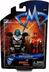 Megamind Movie Mini Action Figure 2-Pack Minion & Tighten