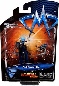 Megamind Movie Mini Action Figure 2-Pack Megamind & Brainbot