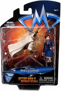 Megamind Movie Mini Action Figure 2-Pack Metroman & Roxanne Ritchie
