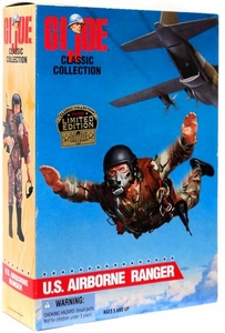 GI Joe Classic Collection 12 Inch Limited Edition Action Figure U.S. Airborne Ranger