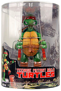 NECA Teenage Mutant Ninja Turtles Comic Style Action Figure Leonardo [Tube Packaging]