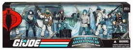 GI Joe Exclusive Extreme Weather Troop Builders Action Figure 7-Pack Cobra Arctic Assault Squad