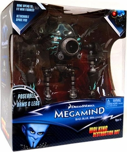 Megamind Movie Vehicle Walking Destruction Bot [Poseable Arms & Legs]