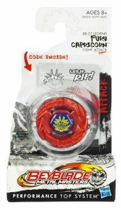 Beyblades Metal Masters Booster Pack Attack Top #BB27 Fury Capricorn [Legend]