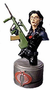 Comic Books: GI Joe Baroness Resin Bust
