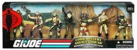 GI Joe Exclusive Extreme Weather Troop Builders Action Figure 7-Pack Cobra Desert Assault Squad