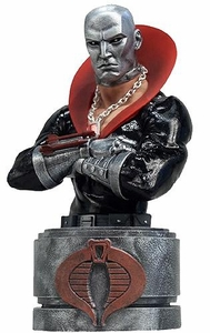 GI Joe Toyfare Exclusive Resin Bust Destro