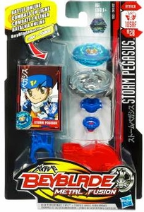Beyblades Metal Fusion Attack Battle Top #BB28 Storm Pegasus
